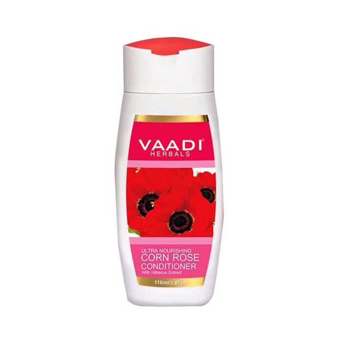 Vaadi Herbals Value Pack of Corn Rose Conditioner with Hibiscus Extract Pack of 3