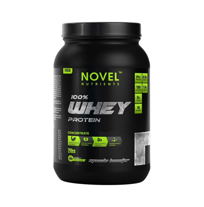 Novel Nutrients 100% Whey Protein Concentrate Chocolate