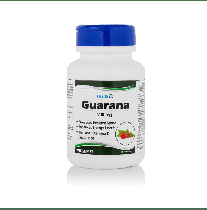 HealthVit Guarana 200mg Capsule