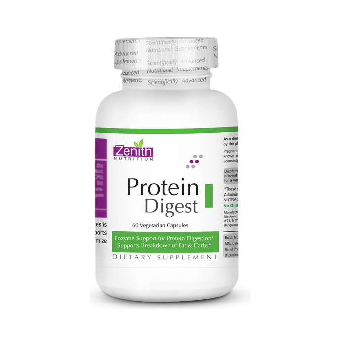 Zenith Nutrition Protein Digest Vegetarian Capsule
