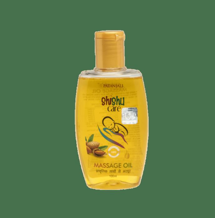 Patanjali Ayurveda Shishu Care Massage Oil Pack of 5
