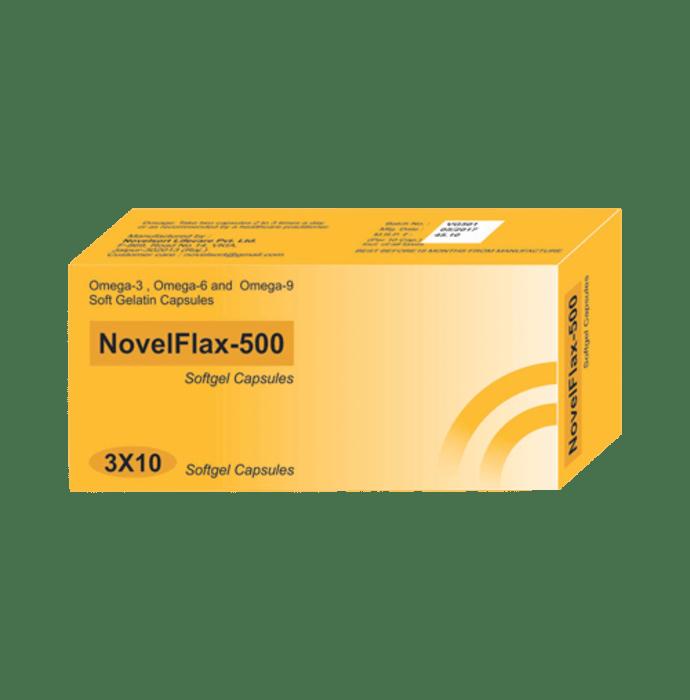 NovelFlax -500 Soft Gelatin Capsule