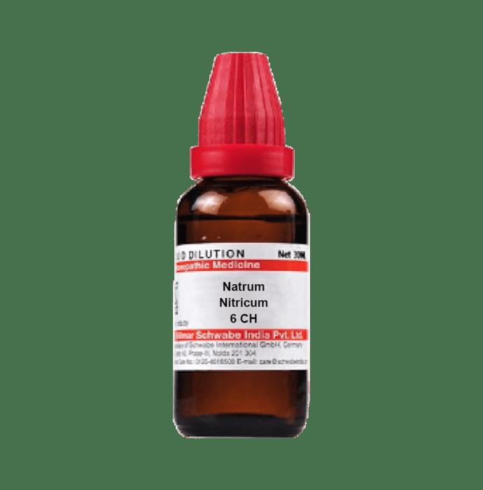 Dr Willmar Schwabe India Natrum Nitricum Dilution 6 CH