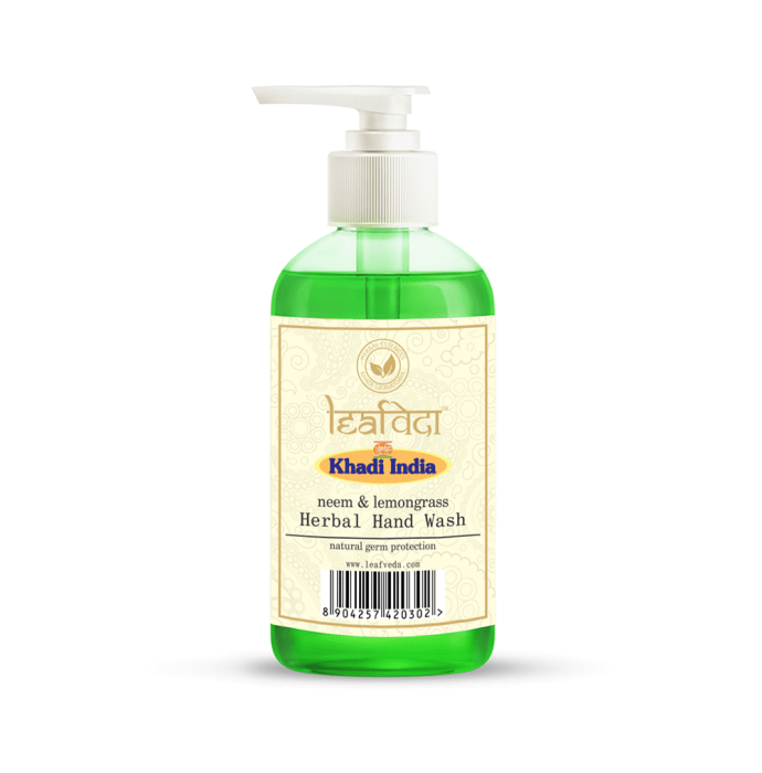 Khadi Leafveda Neem & Lemongrass Herbal Hand Wash