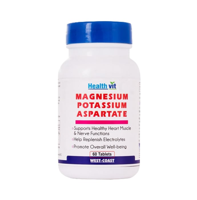 HealthVit Magnesium Potassium Aspartate Tablet