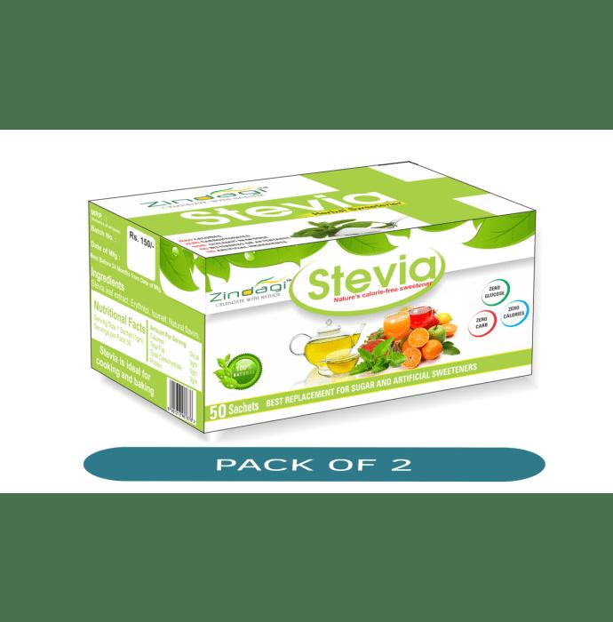 Zindagi Stevia Sachet (1gm Each) Pack of 2