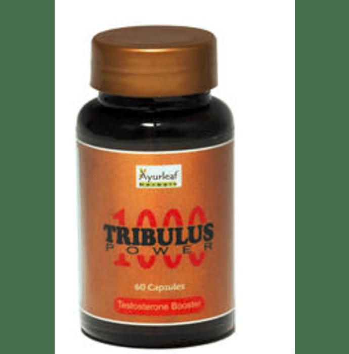 Ayurleaf Tribulus Power 1000 Capsule