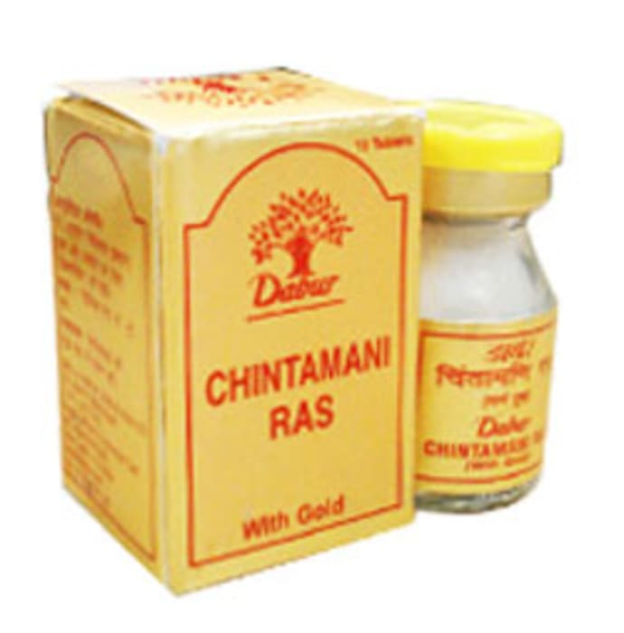Dabur Chintamani Ras with Gold Tablet