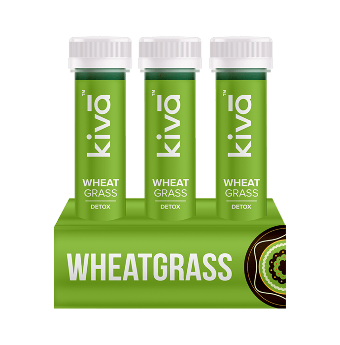 Kiva Wheat Grass Shot Pack of 6