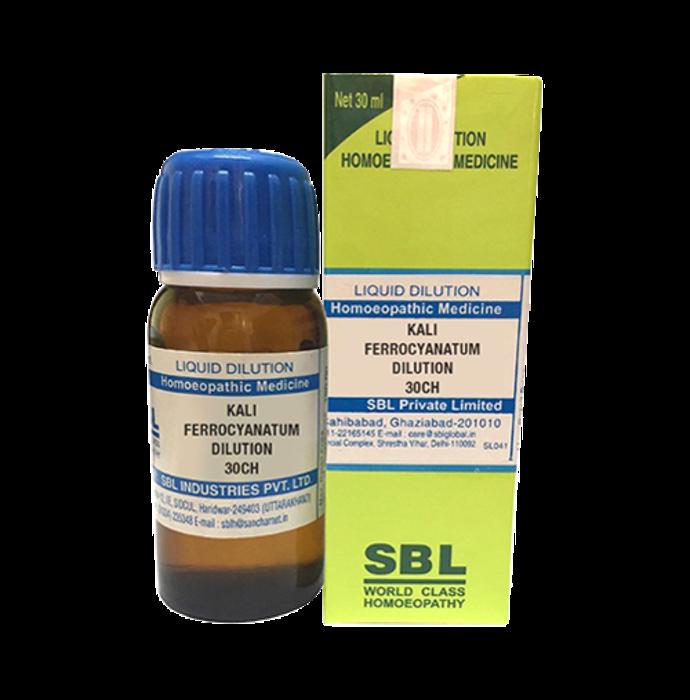 SBL Kali Ferrocyanatum Dilution 30 CH