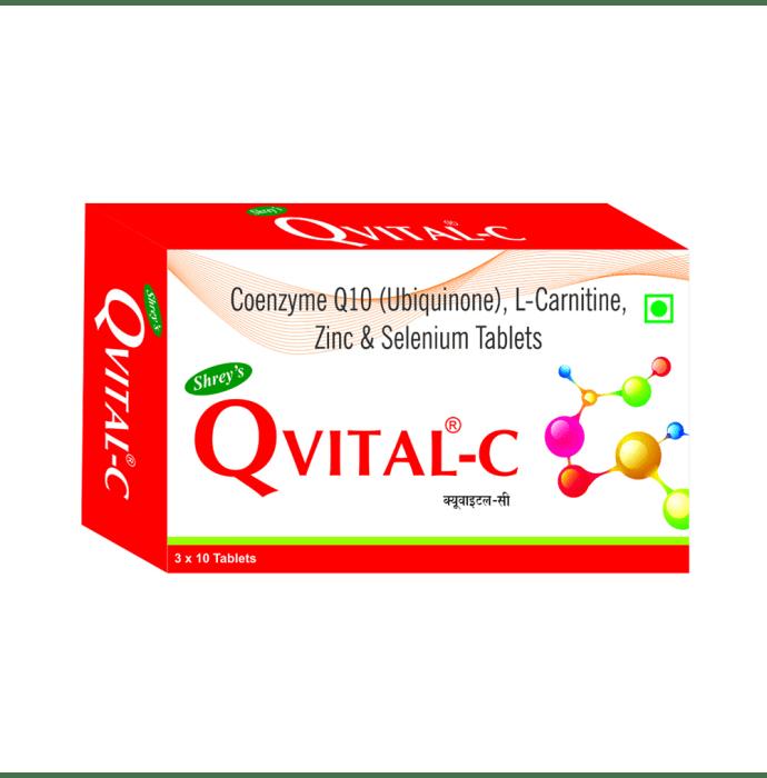 Shrey's Qvital-C  Capsule
