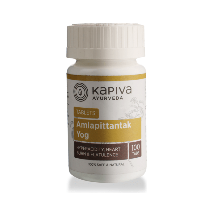 Kapiva Ayurveda Amlapittantak Yog Tablet Pack of 2