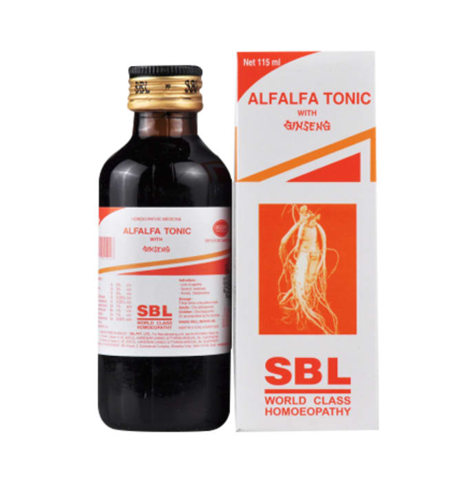 SBL Alfalfa Tonic With Ginseng
