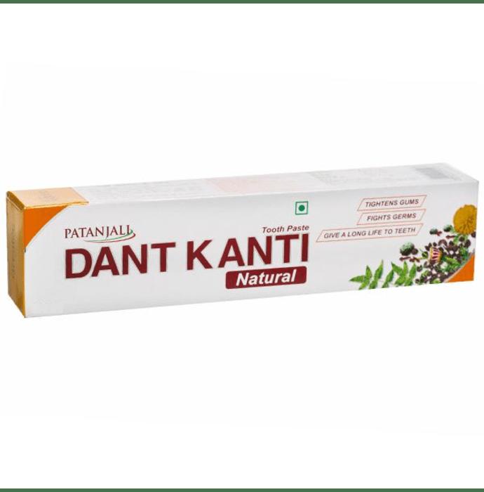 Patanjali Ayurveda Dant Kanti Natural Toothpaste Pack of 5
