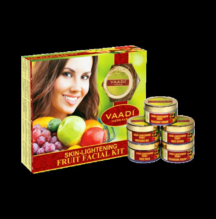 Vaadi Herbals Skin-Lightening Fruit Facial Kit 270gm
