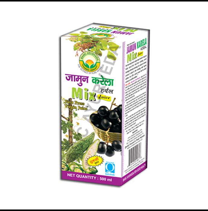 Basic Ayurveda Jamun Karela Mix Juice