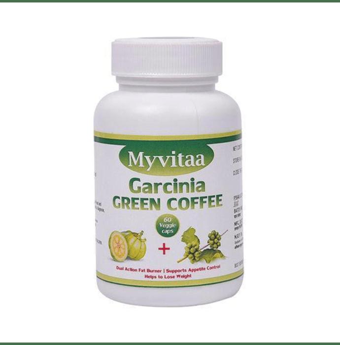 My Vitaa Garcinia Green Coffee Veggie Caps