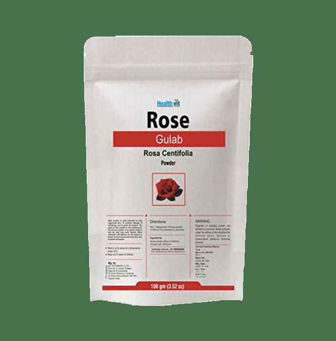 HealthVit Rose Petal Powder