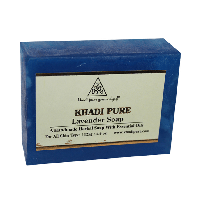 Khadi Pure Herbal Lavender Soap Pack of 2