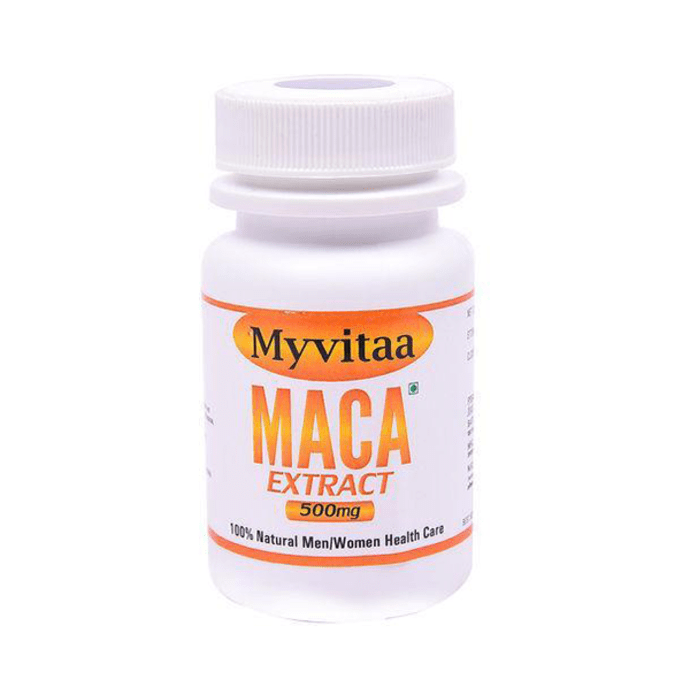 My Vitaa Maca Extract 500mg Capsule