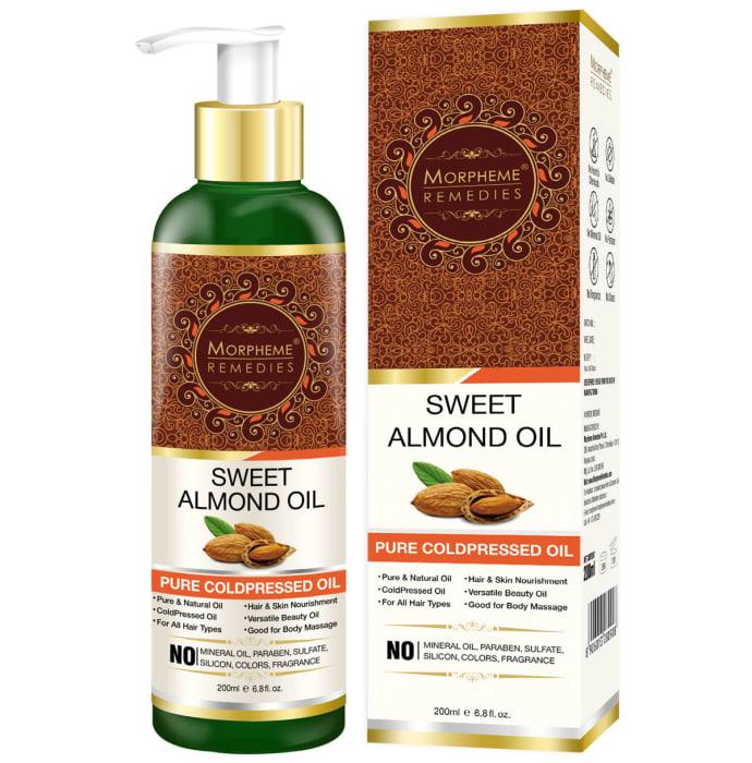Morpheme Pure Coldpressed Sweet Almond Oil