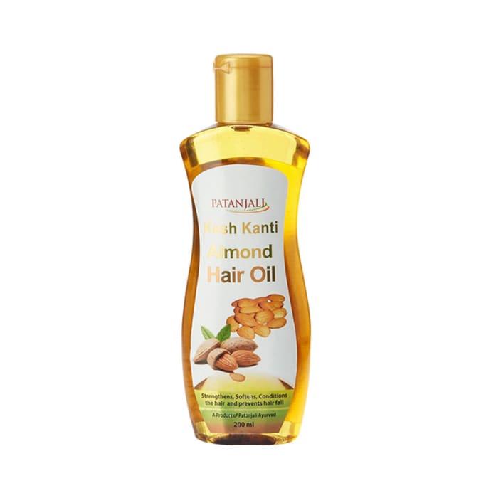Patanjali Ayurveda Kesh Kanti Almond Hair Oil Pack of 4