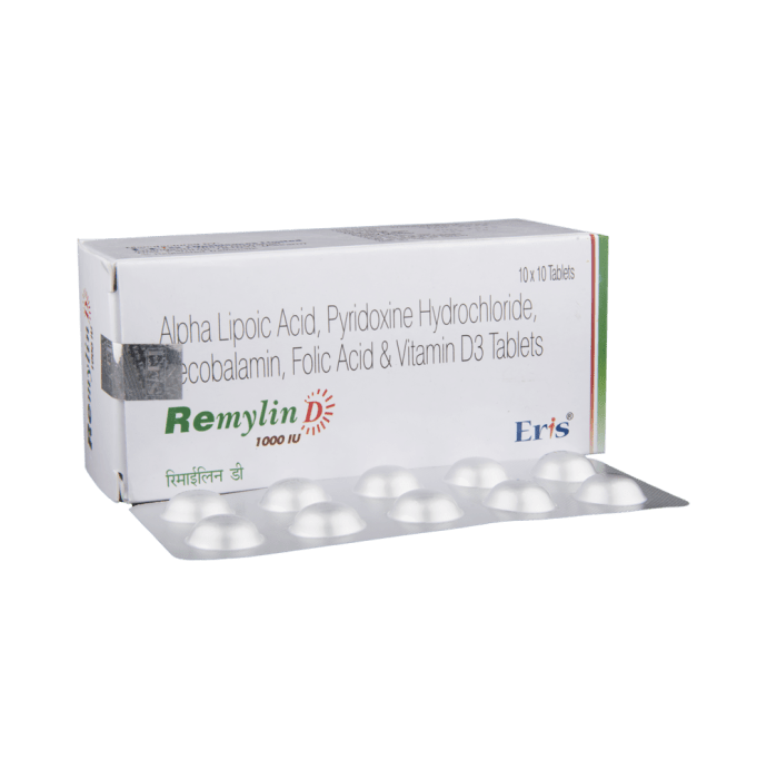 Remylin D 1000IU Tablet