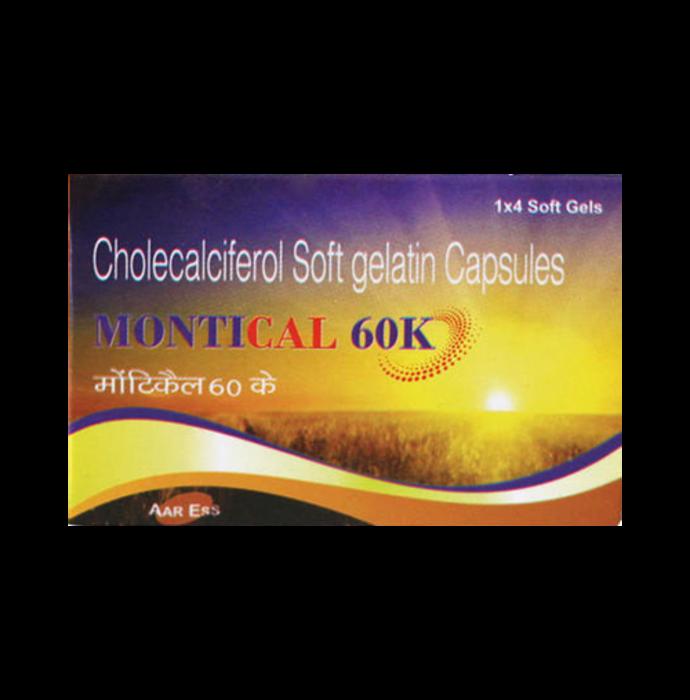 Montical 60K Soft Gelatin Capsule