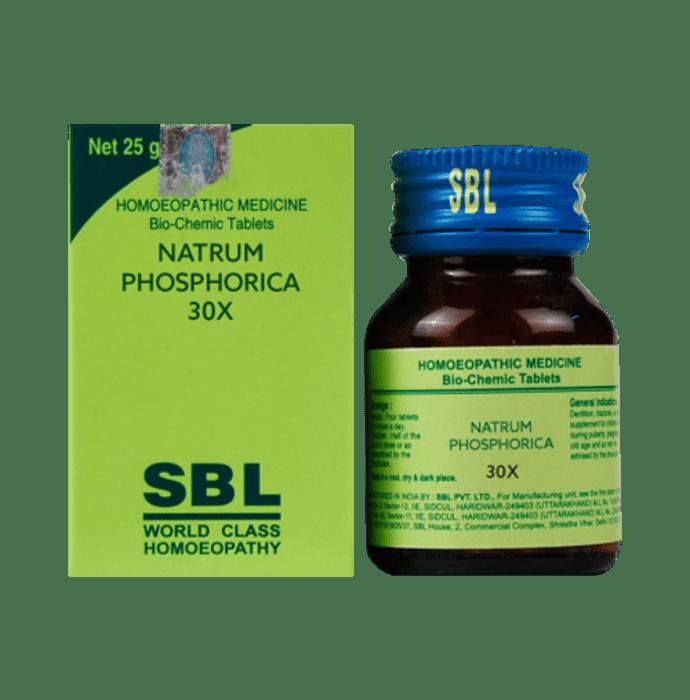 SBL Natrum Phosphorica Biochemic Tablet 30X