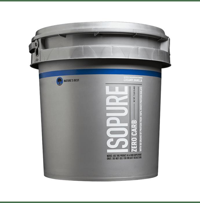 IsoPure Zero Carb Protein Powder Creamy Vanilla