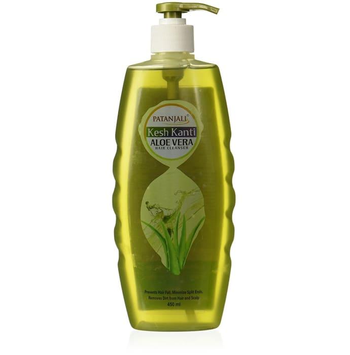 Patanjali Ayurveda Kesh Kanti Aloe Vera Hair Cleanser Pack of 2