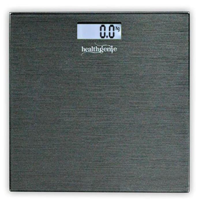 Healthgenie HD-221 Digital Weighing Scale Brushed Dark Grey