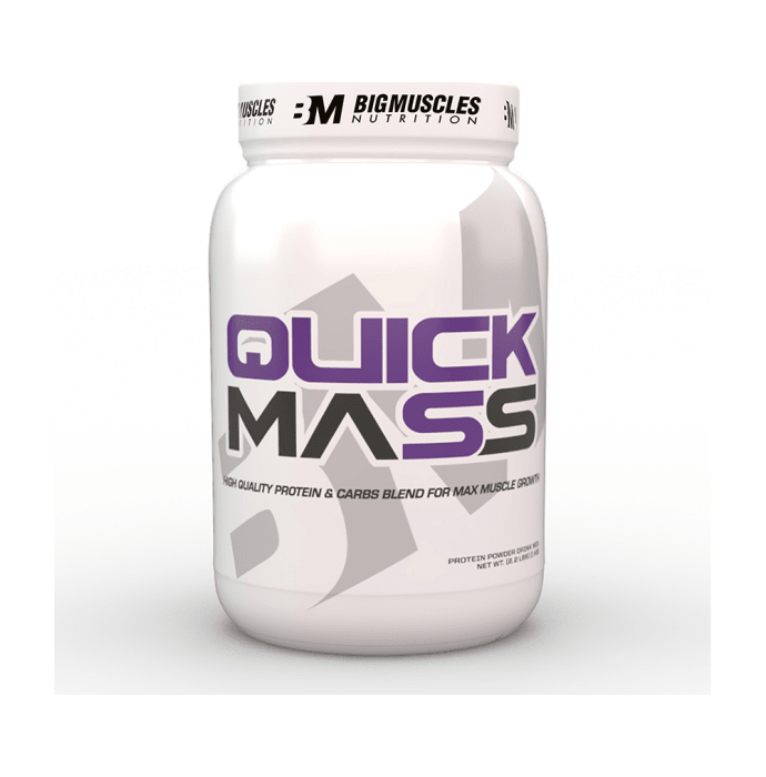 Big  Muscles Quick Mass Cookies & Cream