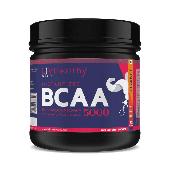 Livhealthy BCAA 5000 Orange