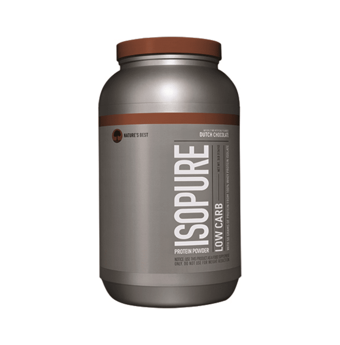 IsoPure Low Carb Dutch Chocolate