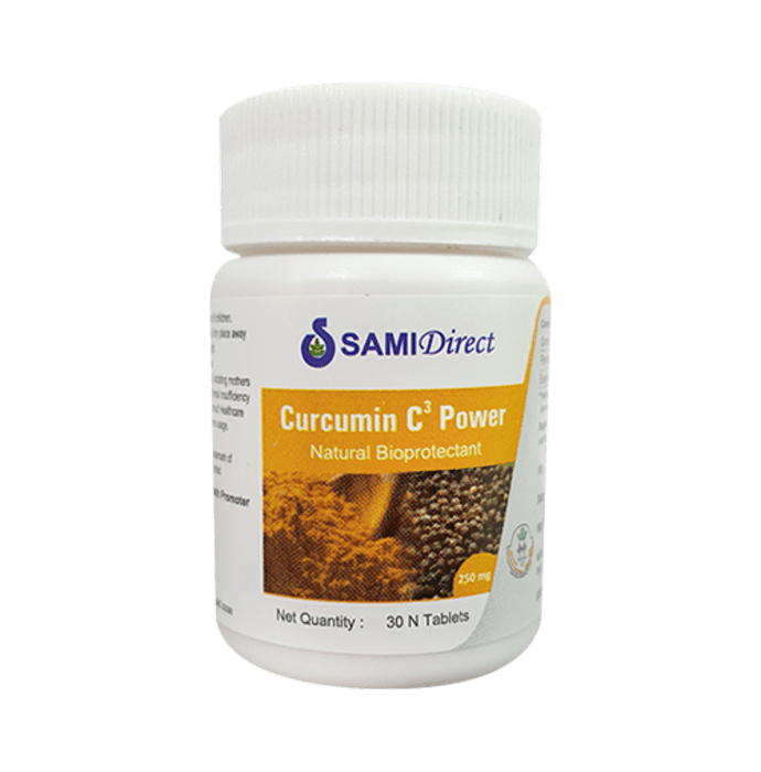 Sami Direct Curcumin C3 Power 250mg Tablet