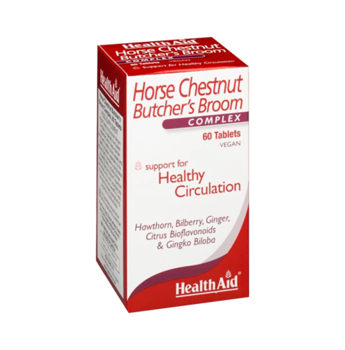 Healthaid Horse Chestnut  Butcher's Broom Complex Tablet