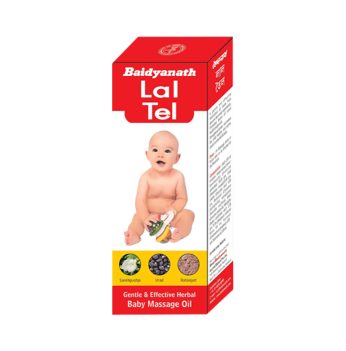 Baidyanath Lal Tel Pack of 2