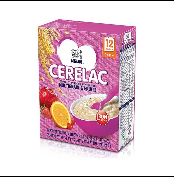 Nestle Cerelac Stage 4 Multigrain & Fruits