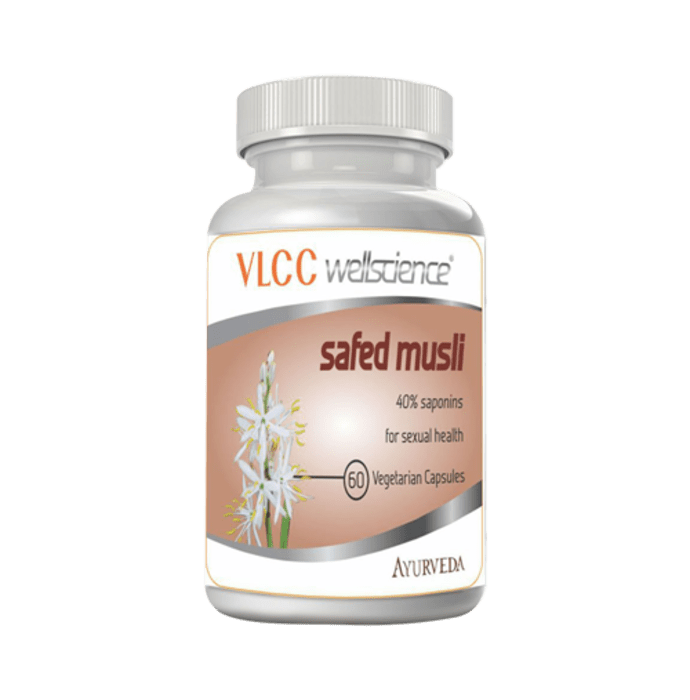 VLCC Wellscience Safed Musli Capsule