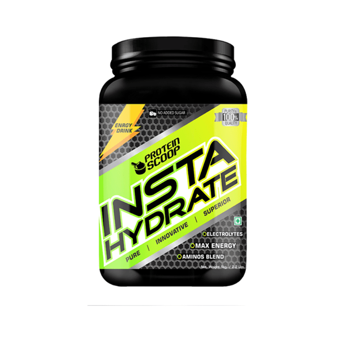Protein Scoop Insta Hydrate Lemon