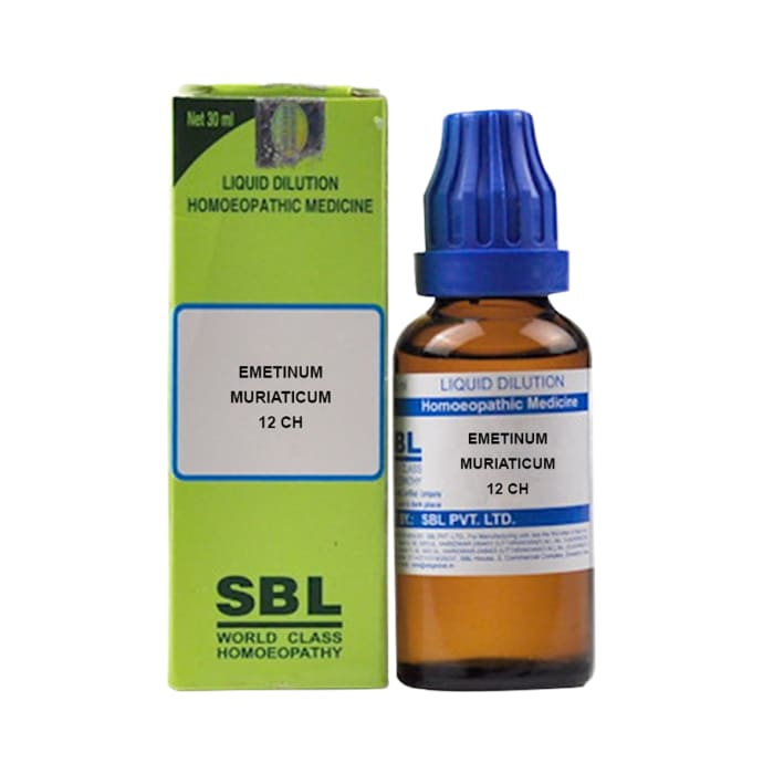 SBL Emetinum Muriaticum Dilution 12 CH