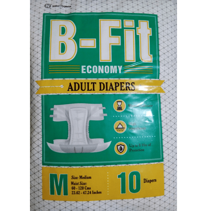 B-Fit Economy Adult Diaper M