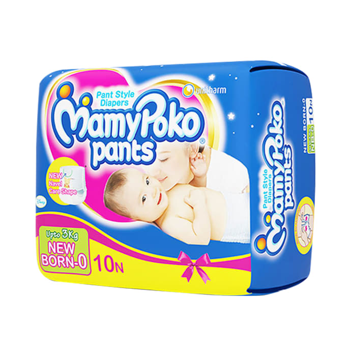 Mamy Poko Pants For New Born NB-0 Pack of 2