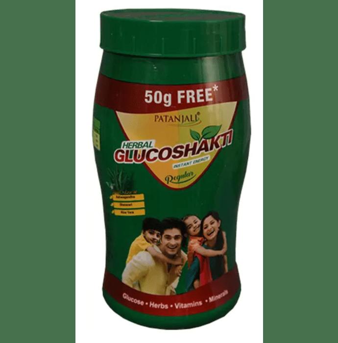 Patanjali Ayurveda Herbal Glucoshakti (500+50) Gm Regular Pack of 4