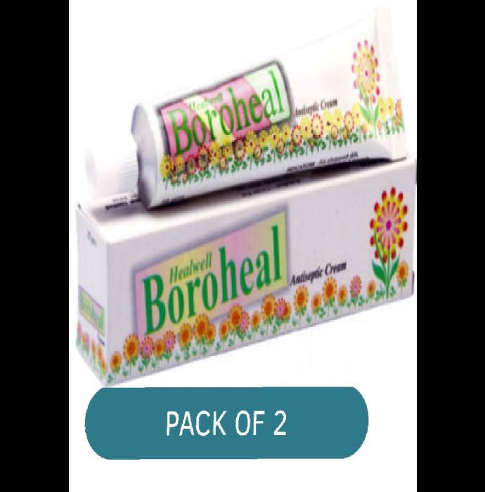 Healwell Boroheal Cream Pack of 2