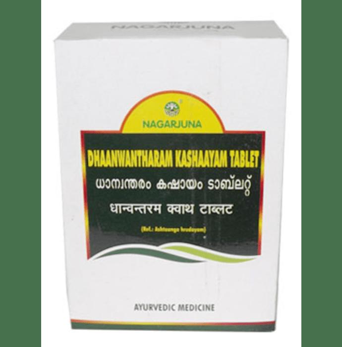 Nagarjuna Dhaanwantharam Kashaayam Tablet