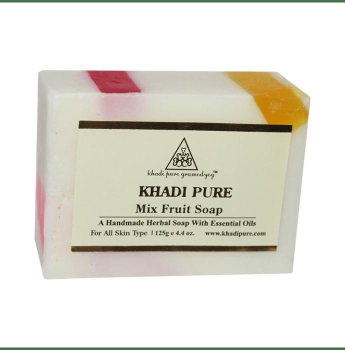 Khadi Pure Herbal Mix Fruit Soap Pack of 2