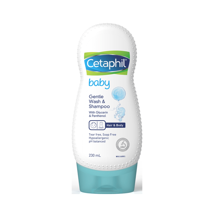 New Cetaphil Baby Gentle Wash & Shampoo