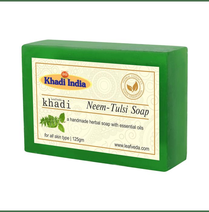Khadi Leafveda Neem-Tulsi Soap Pack of 2